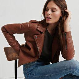 Leather Moto Jacket | Lucky Brand | Lucky Brand