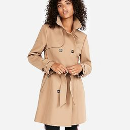 classic double breasted trench coat   Express