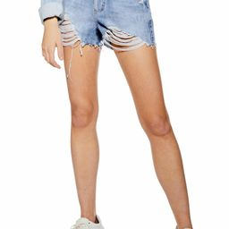 Ripped Mom Shorts   Nordstrom