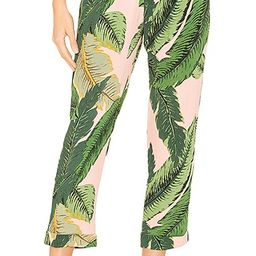 BEACH RIOT x REVOLVE Avery Pant in Pink Palm from Revolve.com | Revolve Clothing (Global)