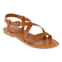 Arizona Womens Antigua Adjustable Strap Flat Sandals   JCPenney