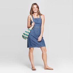 Women's Scoop Neck Tank Denim Dress - Universal Thread™ Medium Wash   Target