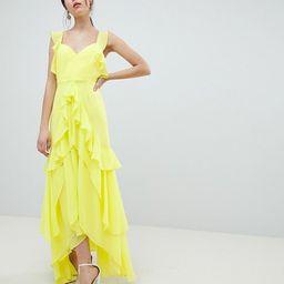 ASOS DESIGN ruffle maxi dress | ASOS US