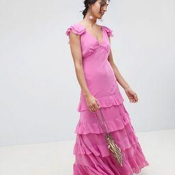 ASOS DESIGN tiered ruffle maxi dress | ASOS US
