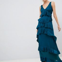 Y.A.S Ruffle Tiered Maxi Dress | ASOS US