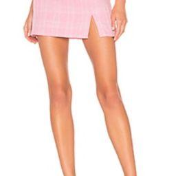 superdown Dillon Mini Skirt in Pink Plaid from Revolve.com   Revolve Clothing (Global)