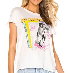 Junk Food Blondie Heart of Glass Tee in Vintage White from Revolve.com   Revolve Clothing (Global)