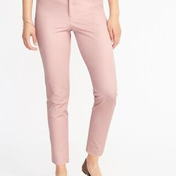 Mid-Rise Pixie Ankle Pants for Women | Old Navy US