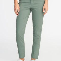 Mid-Rise Pixie Chino Ankle Pants for Women | Old Navy US