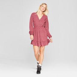 Women's Long Sleeve Button Front Woven Dress - Xhilaration™   Target