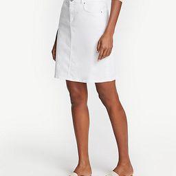 Button Waist Denim Skirt | Ann Taylor | Ann Taylor (US)