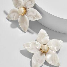 Amariella Flower Stud Resin Earrings | BaubleBar (US)