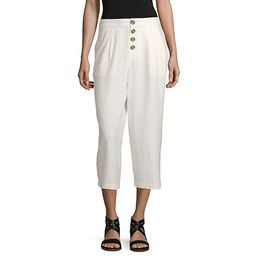 a.n.a High Waisted Cropped Pants | JCPenney