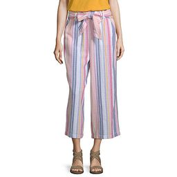 a.n.a Soft Womens High Waisted Wide Leg Pull-On Pants | JCPenney