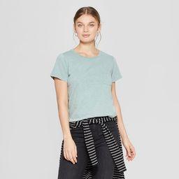 Women's Short Sleeve Crew Neck Meriwether Pocket T-Shirt - Universal Thread™ | Target