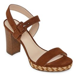 Liz Claiborne Womens Paseo Heeled Sandals | JCPenney