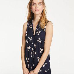 Floral Essential Sleeveless Shirt | Ann Taylor | Ann Taylor (US)