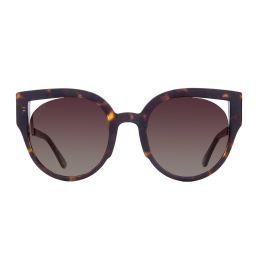 PENNY - MATTE DARK TORTOISE + BROWN GRADIENT | DIFF Eyewear