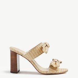 Janie Bow Heeled Sandals | Ann Taylor | Ann Taylor (US)