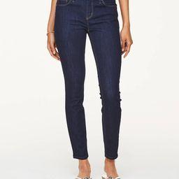 Petite Modern Skinny Jeans in Dark Rinse Wash | LOFT Outlet