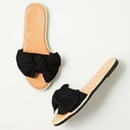 Bow Slide Sandals | LOFT Outlet