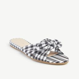 Bow Slide Sandals | Ann Taylor Factory