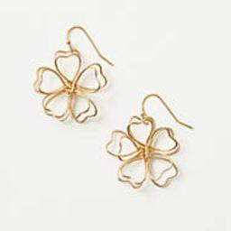Floral Drop Earrings | LOFT Outlet
