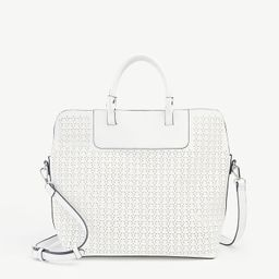 Perforated Tote Bag | Ann Taylor Factory