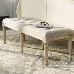 Letellier Upholstered Bench | Wayfair North America