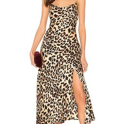 ASTR the Label Cowl Strappy Dress in Leopard Print from Revolve.com   Revolve Clothing (Global)