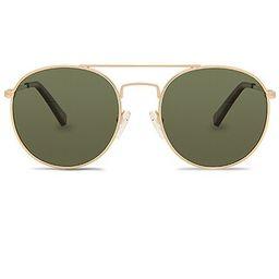 Le Specs Revolution in Gold & Khaki Mono from Revolve.com   Revolve Clothing (Global)