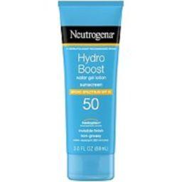 Neutrogena Hydro Boost Sunscreen SPF 50 | Ulta