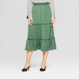 Women's Tiered Midi Skirt - Who What Wear™ | Target
