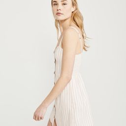 Button-Up Cami Dress   Abercrombie & Fitch US & UK