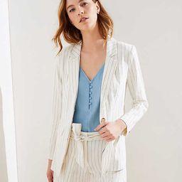 Pinstriped Modern Blazer | LOFT | LOFT