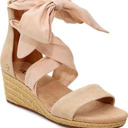 Trina Ankle Tie Wedge Sandal | Nordstrom