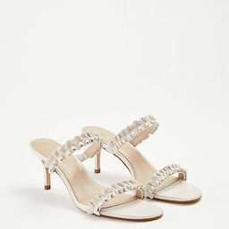 Joanne Ruffle Heeled Sandals | Ann Taylor | Ann Taylor (US)