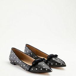 Althea Polka Dot Bow Flats | Ann Taylor | Ann Taylor (US)