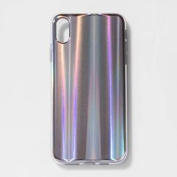heyday™ Apple iPhone XS Max Holographic Case - Opaque | Target