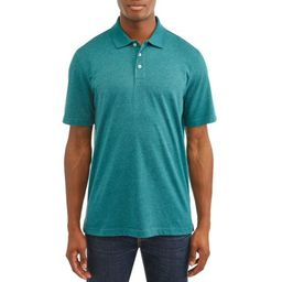 George Short Sleeve Solid Polo up to 5XL | Walmart (US)
