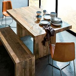 Emmerson® Reclaimed Wood Dining Table - Reclaimed Pine | West Elm (US)