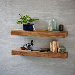 Reclaimed Wood Floating Shelf | West Elm (US)