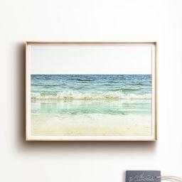 Beach photography, PRINTABLE ART, Landscape Ocean print, Waves print, Coastal wall decor, Califor... | Etsy (US)