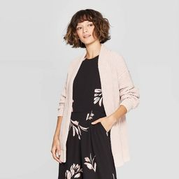 Women's Long Sleeve Chenille Open Cardigan - A New Day™   Target