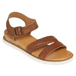 a.n.a Womens Uptown Wedge Sandals | JCPenney