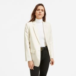 The Cotton-Linen Blazer   Everlane