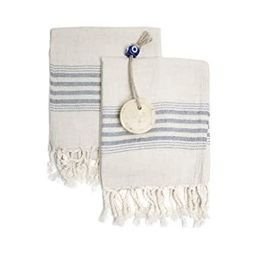 Set of 2 Linen Premium Quality Tea Towel Natural in Color and Eco-friendly Dish Towel, Hand-loome...   Amazon (US)