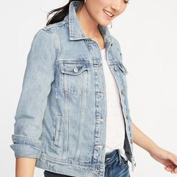 Distressed Denim Jacket for Women | Old Navy US