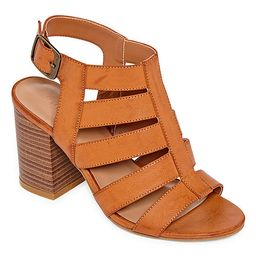 Bamboo Womens Taste 27 Heeled Sandals | JCPenney