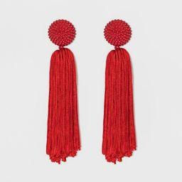 SUGARFIX by BaubleBar Tassel Drop Earrings with Beaded Studs   Target